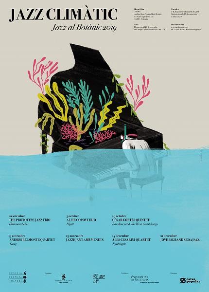 jazz, botanic, sedajazz, jovebigbandsedajazz