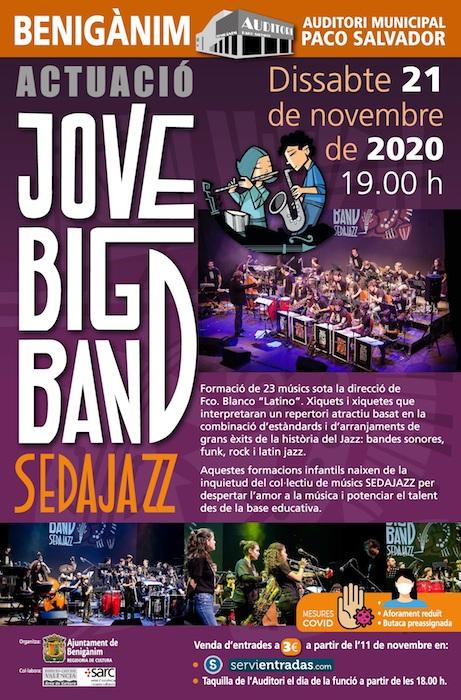 Beniganim_concert, cartel SEDAJAZZ